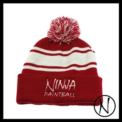 Ninja Beanie-red