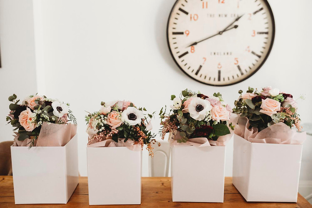 Chosen blooms for the Bridetribe. Photography - The Paper Fox