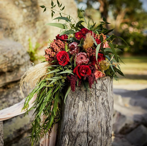 Boho bouquet vibes