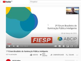 ABCIP participa de 1º Fórum Brasileiro de Iluminação Pública Inteligente