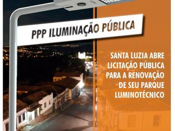 Prefeitura de Santa Luzia publica edital de PPP – Parceria Público Privado, para iluminação pública