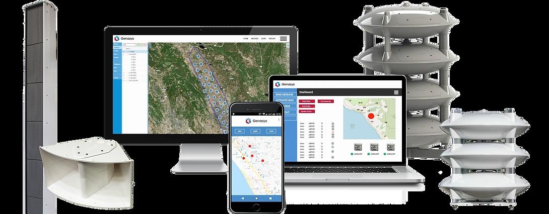 Genasys/LRAD(エルラド)で実現するIPネットワーク防災無線システム