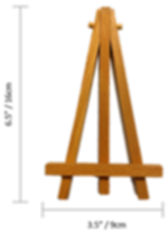 Mini Wooden Easel (with dimensions).png