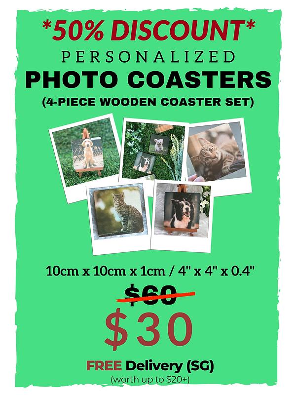 Amber Art Gallery Photo Coasters Price