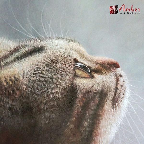 pet-portraits-cat-painting-manx-look-up-