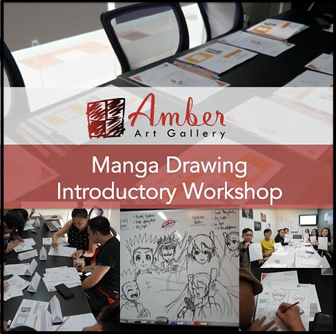 AAG Manga Drawing Intro Workshop Image (