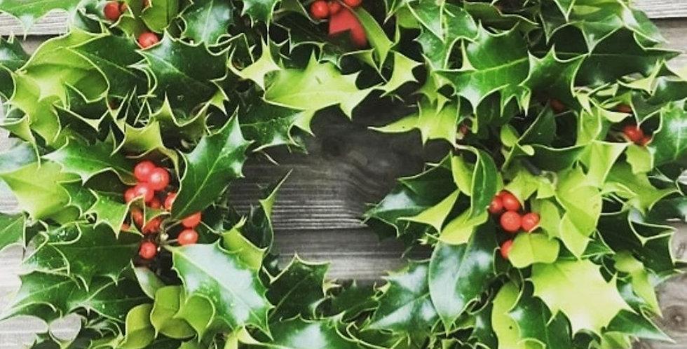 Fresh Holy Wreath