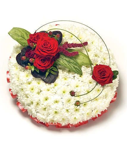 Red & White Posy