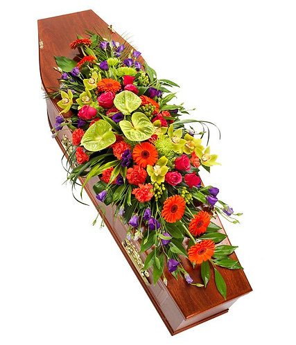 Vibrant Coffin Spray
