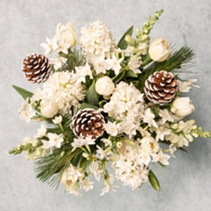 Scented white Christmas