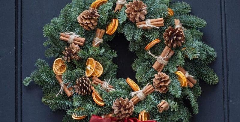 Orange Spice Wreath