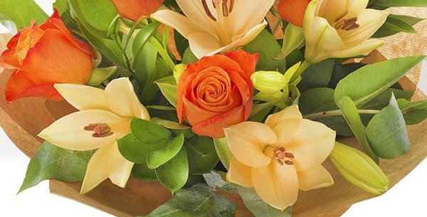 Rose and lily bouquet