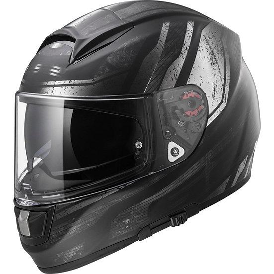 LS2 Vector Evo (Black/Silver)