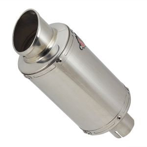 YP4 S/Steel Stubby Exhaust Silencer 51mm