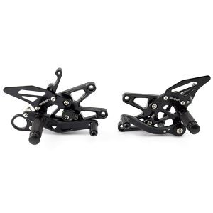 Black Rear Sets for BMW S1000RR (09-14) HP4 (12-14)