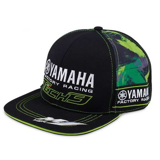 TECH 3 YAMAHA RACING BASEBALL CAP CAMO FLAT PEAK