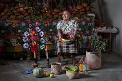 Altar der Zapoteken - Mexiko
