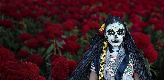 Catrina im Blumenfeld 2b - Mexiko.jpg