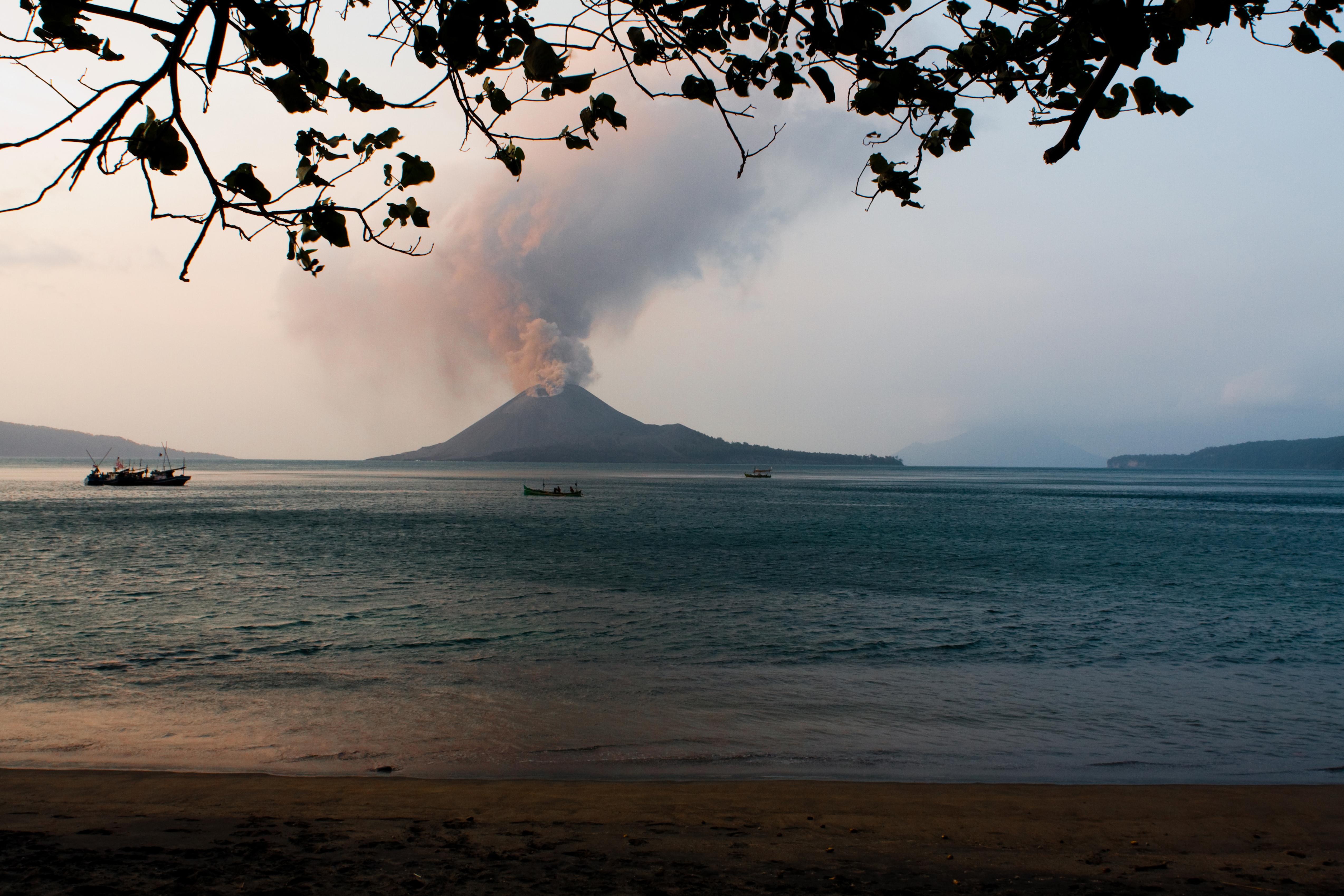 Fotoreise Indonesien Java Bali Krakatau