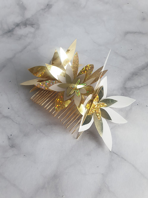 Gold Spangle comb