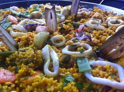 Paella Mixta op personeelsfeest