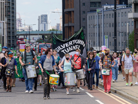Newham communities say: Stop the tunnel