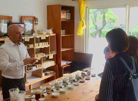 日本からニューカレドニア蜂蜜の取材が来ました!