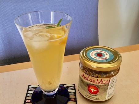 今日は暑いので ハチミツレモンサイダーを作りました!レモン