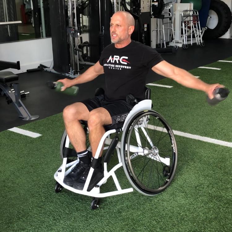 Virtual SCI/D fitness