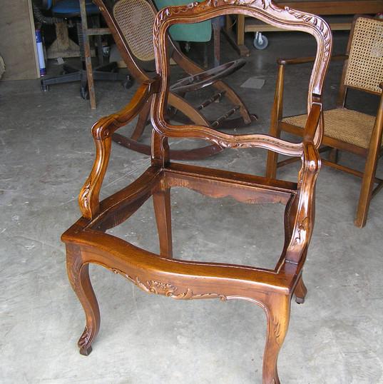 כסא גרמני משנות ה-50 - לפני