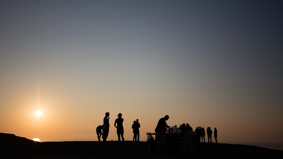 Sunsent Silhouettes - Canteen Cornwall