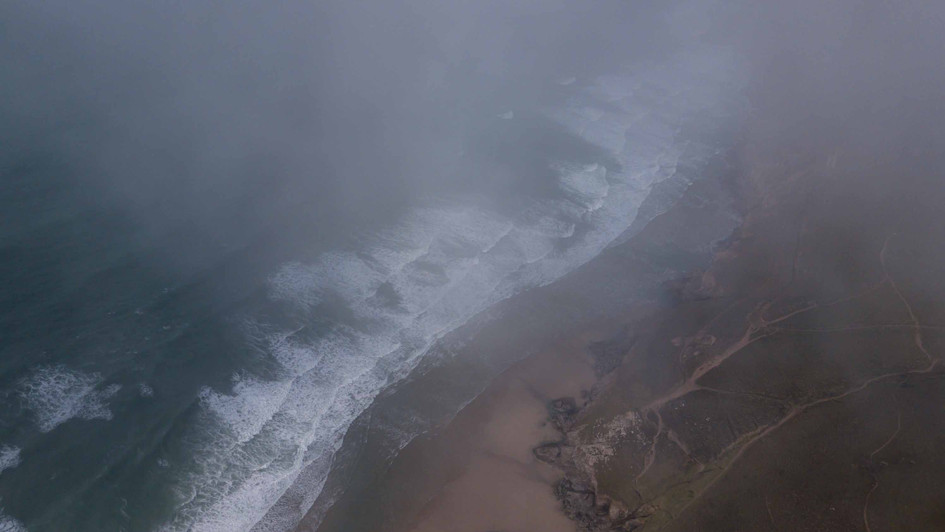 In the mist - Chapel Porth