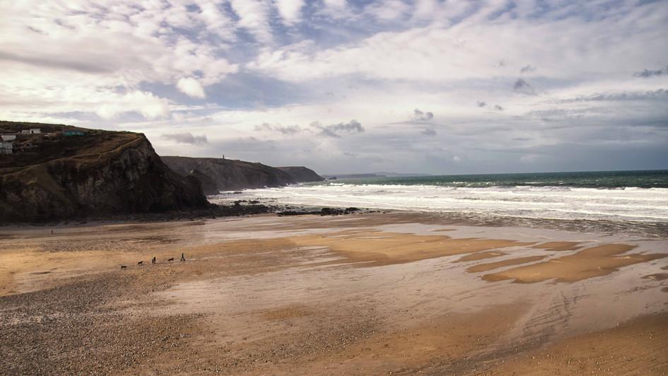 Cliff walk views - Porthtown