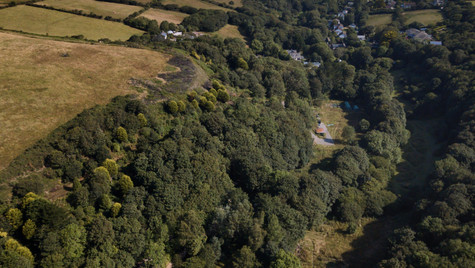 Aerial views of Blowingmill House