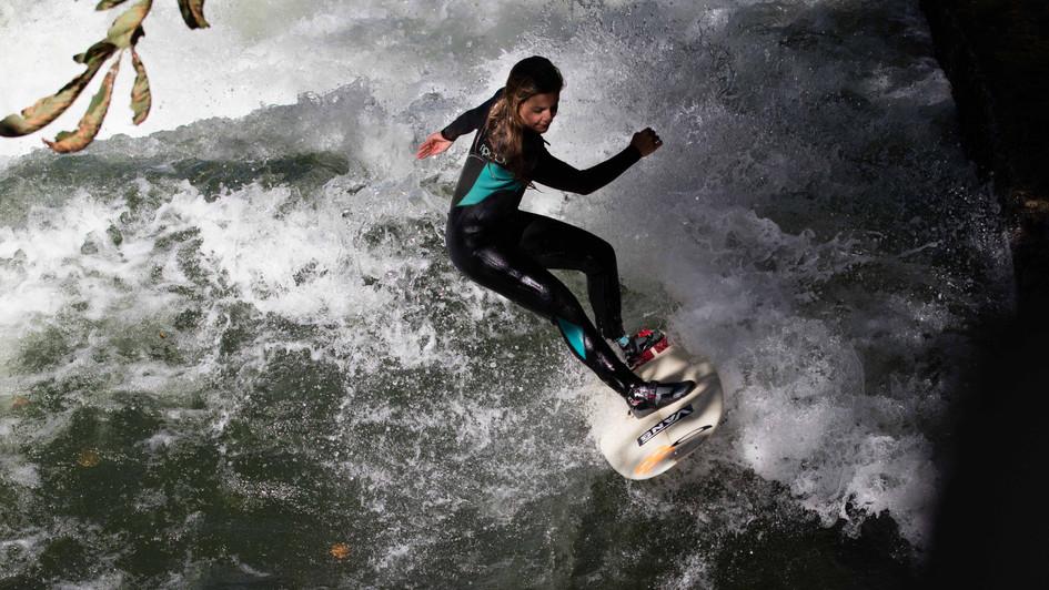 River surfing - Munich