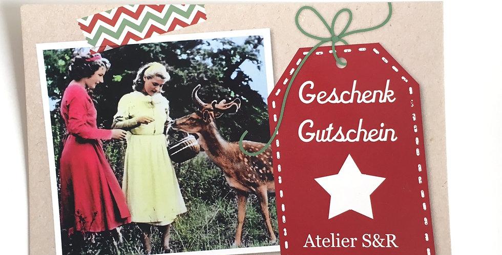 Gutschein Atelier S&R  100 Fr.