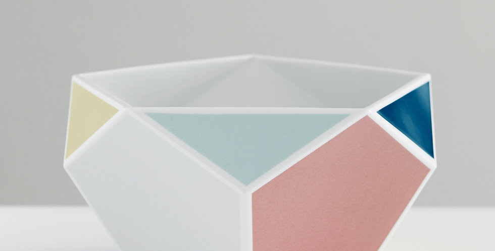 Keramik-Schale farbig