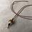 Thumbnail: Necklace Smoky Quartz - Hessonite