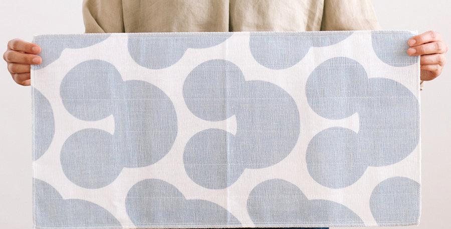 Hirali Kitchen Towel Grey Blue