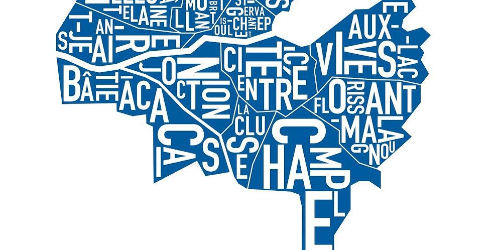 Geneva Serigraphie - Navy