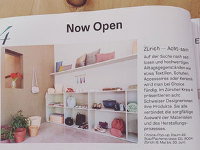 Now Open - Choice Pop Up