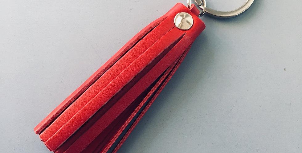 Keyholder Tassel Red