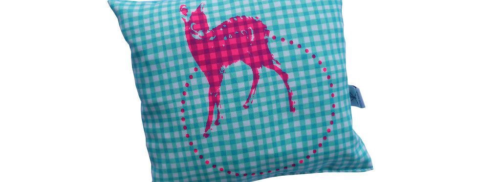 Arvenkissen klein - Bambi neonpink