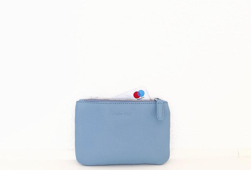 Small wallet Dusty Blue