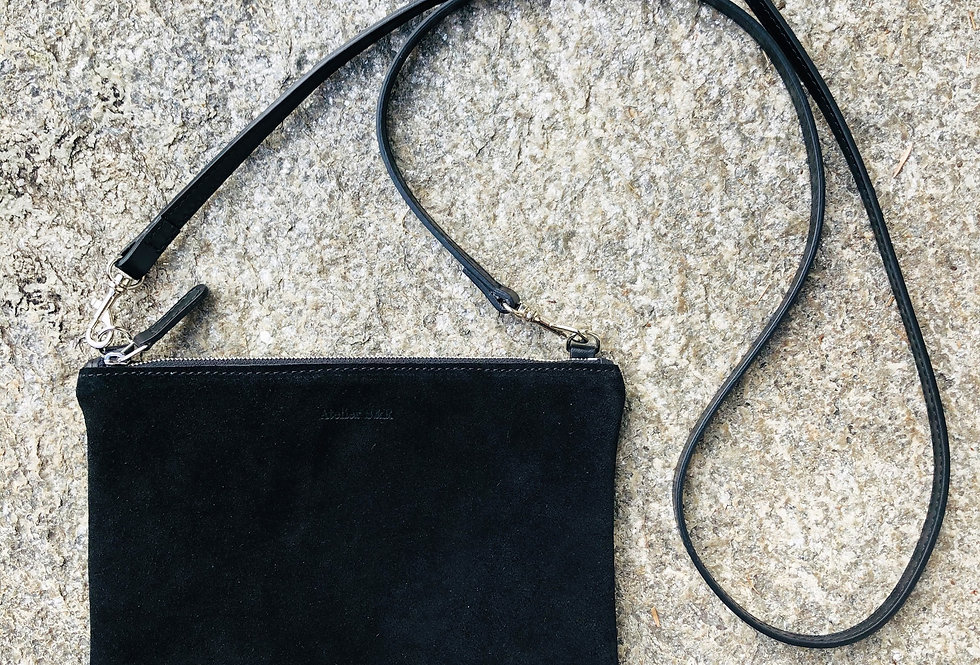 Little Bag Suede Black