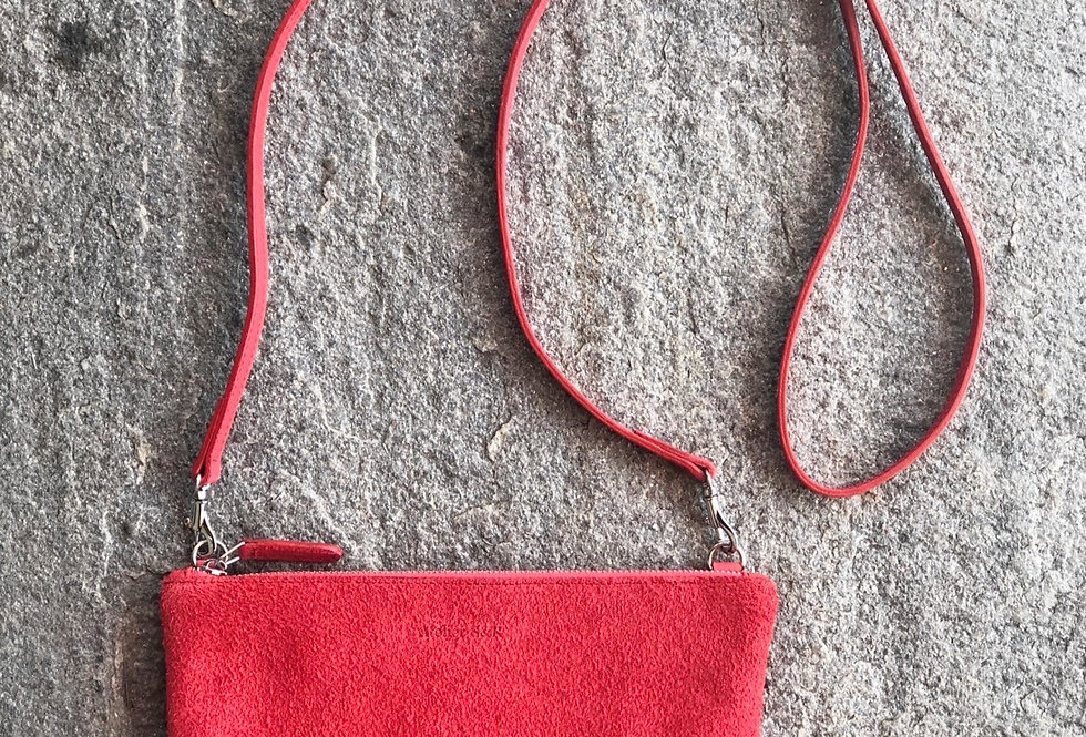 Little Bag Suede Light Red