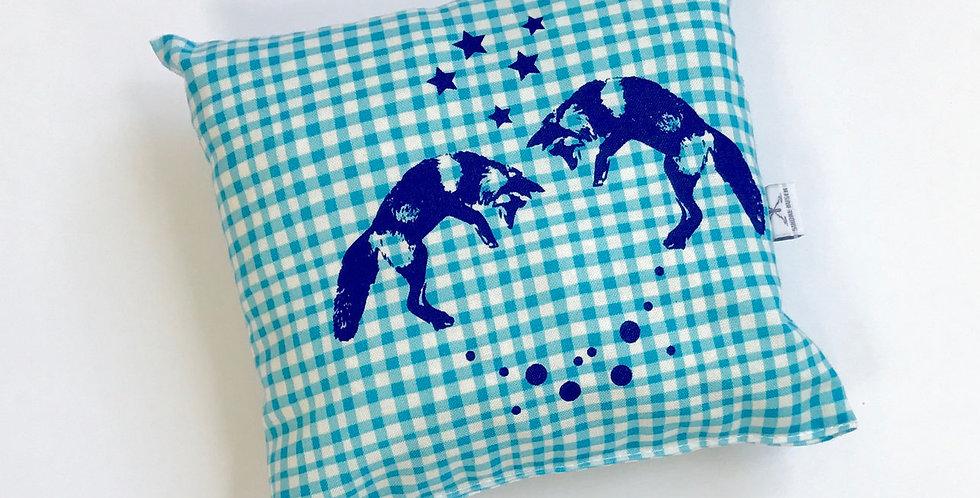 Arvenkissen klein - Fuchs ultrablau