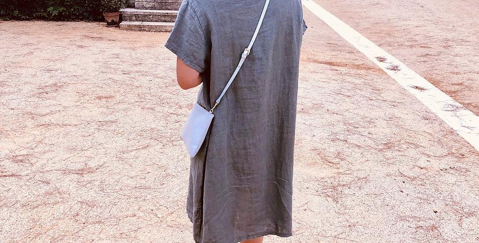 Linen Dress - Sage
