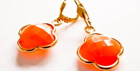 Earrings Mandarin Gold