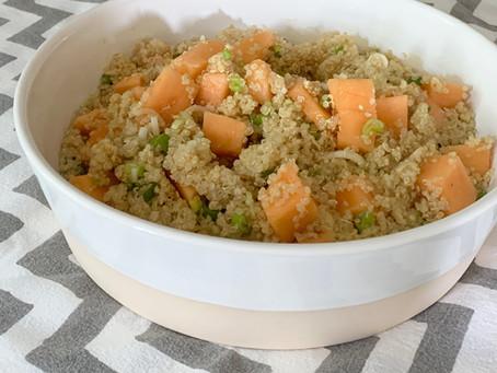 Quinoasalat mit Melone
